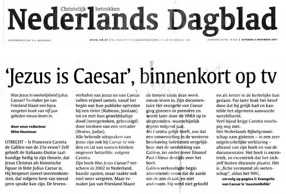 Nederlands Dagblad Wim Houtman